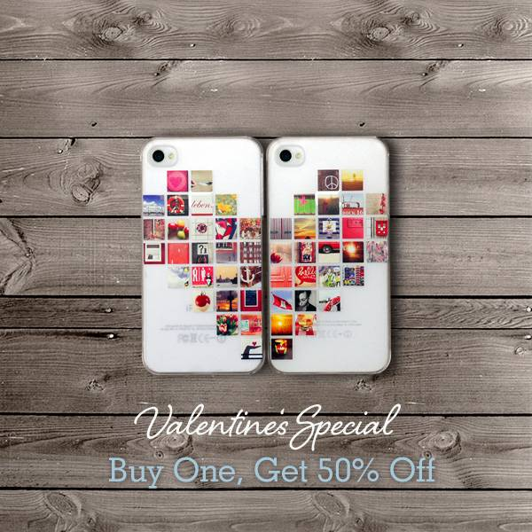 """""""I'm Yours…"""" Surprise your Valentine with Casetagram's limited edition iPhone cases!"""