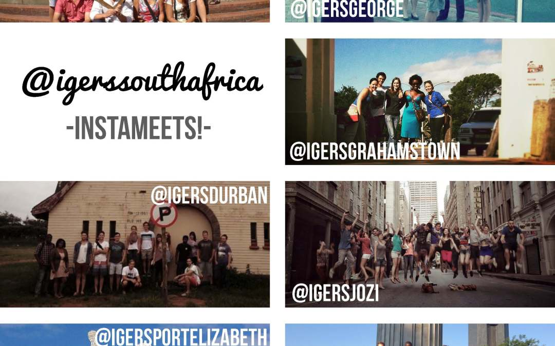 First Global Instagramers South Africa Instameet