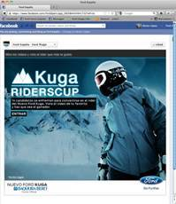 Ford Kuga Riders Cup Baqueira