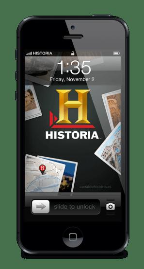 App iPhone Historia Canal de Historia Tv