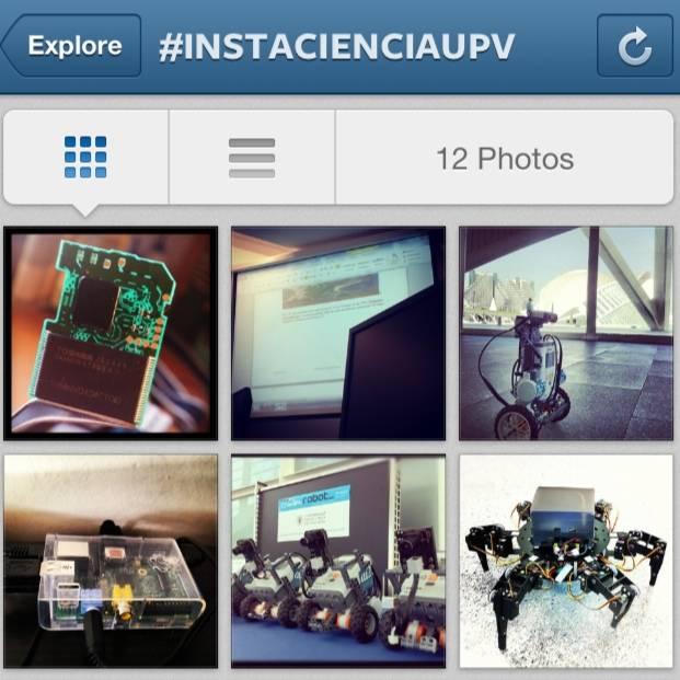 La UPV convoca el certamen Instantes de Ciencia UPV en Instagram