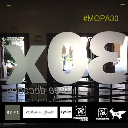 Show us your thirty at #Mopa30 with Instagramers Mexico