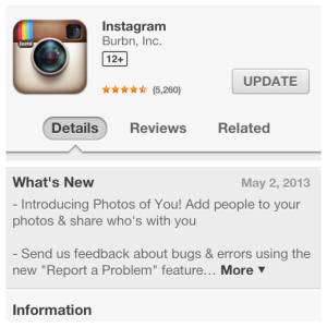 photo of you tool instagram