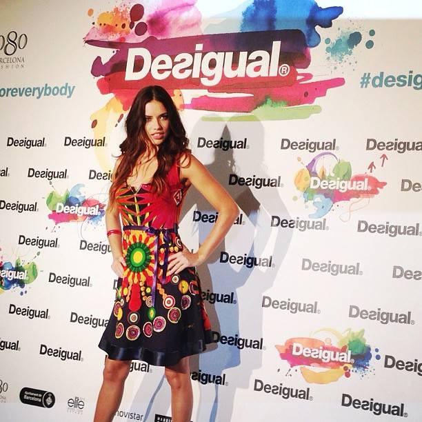 3 Instagramers en el desfile Desigual de la 080 Barcelona Fashion
