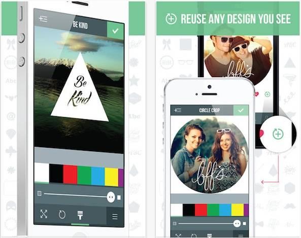 Got Bored of your Instagram Pics? Here comes the Studio Design App