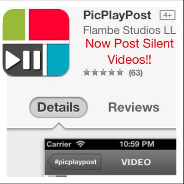 PicPlayPost, un app para mostrar varios vídeos en un mismo post en Instagram