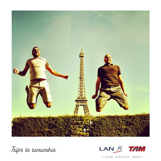 Get your wonderful Instamagnets with LAN Airlines!