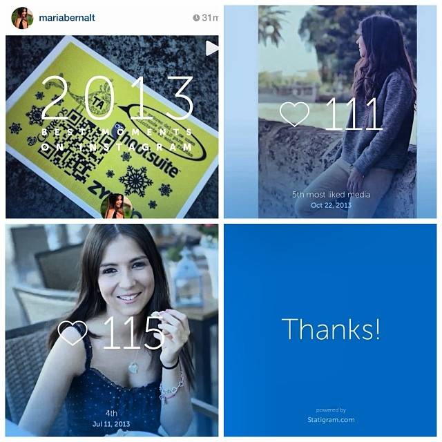 MemoStatigram Your Best Instagram Moment on a Short Video Recap