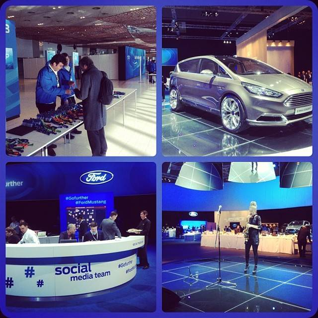 Ford launches its new global Mustang in Barcelona and Instagramers.com were invited to the premiere!