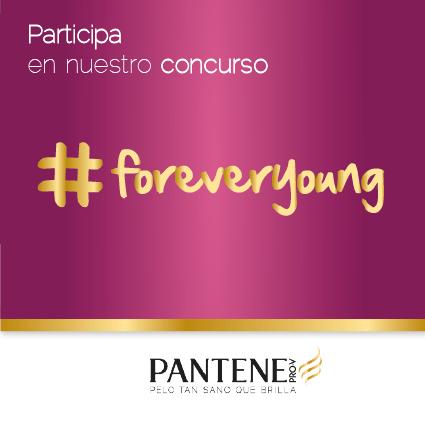 Gana un viaje a Ámsterdam para dos personas con Pantene demostrando que sigues siendo #ForeverYoung