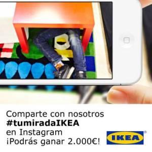 Concurso Tu Mirada IKEA en Instagram
