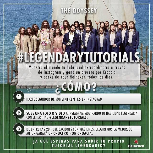 #LegendaryTutorials, Un Original Concurso de Vídeos en Instagram de Heineken_Es