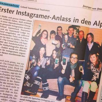 Let's Instagram Gstaad!