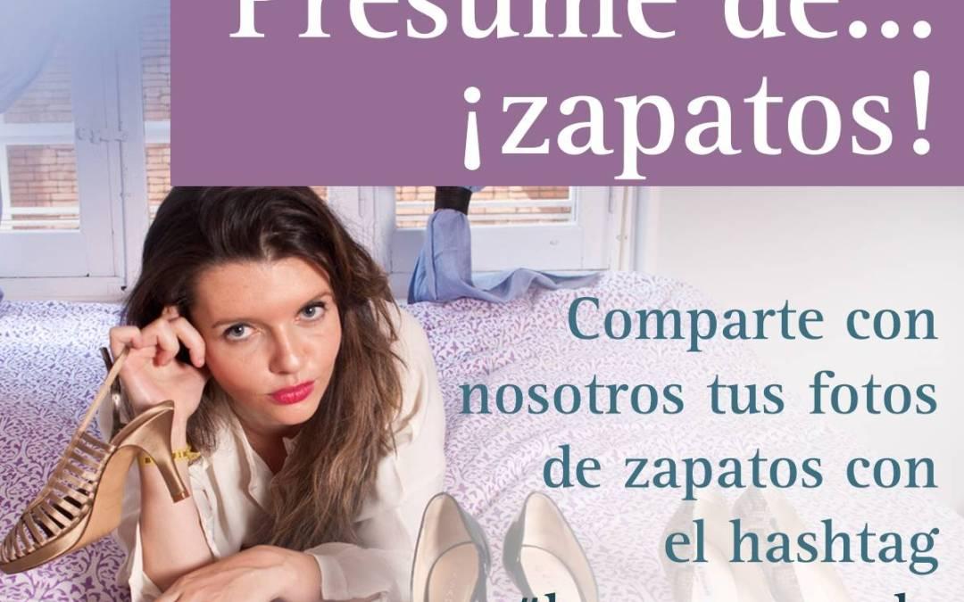 Concurso Hoy presumo de Zapatos #hoypresumode en Instagram con @CanalDecasa