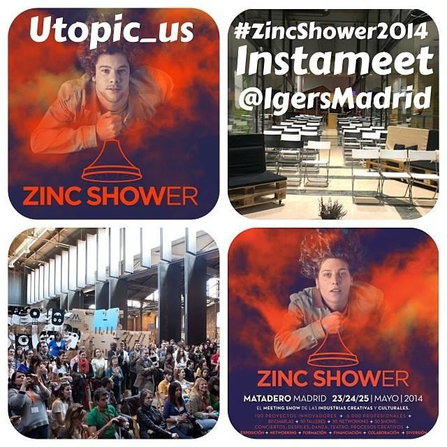 Instameet en utopic_US Madrid con Instagramers Madrid y Zincshower
