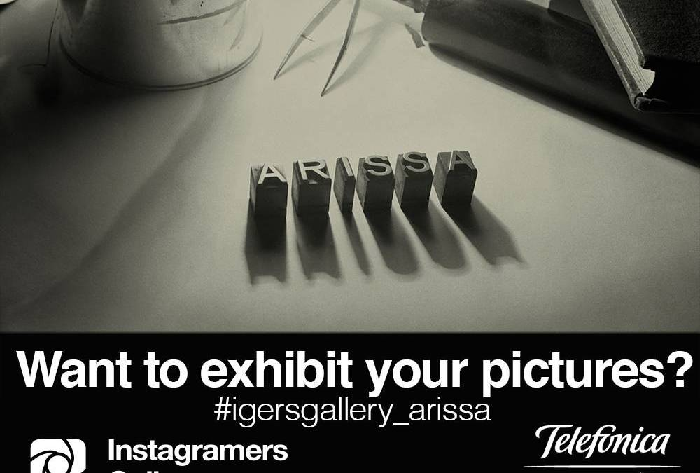 Join igersgalleryMadrid, inspired by Antoni Arissa's work!