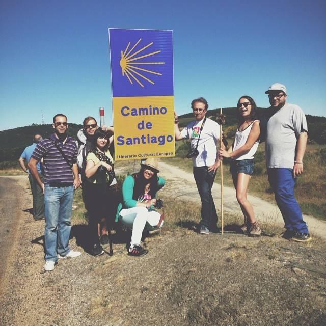 El camino de Santiago en el Bierzo se convierte en el Camino de Instagramers