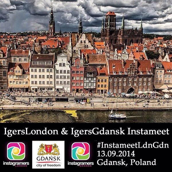 Instagramers London Meets Instagramers Gdansk in Poland!