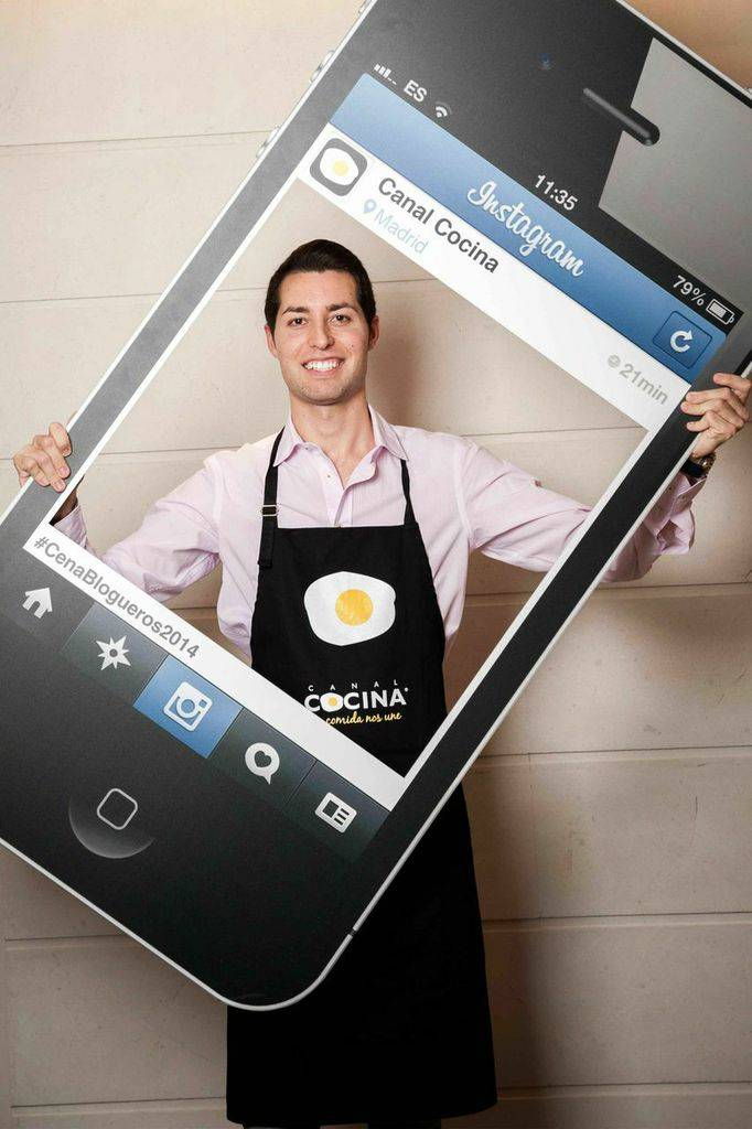Manu de The Gourmet Journal es @gourmetjournal en Instagram