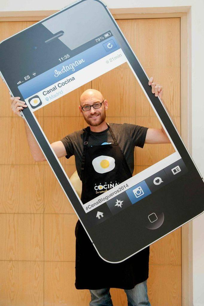 Txaber es El Cocinero Fiel y se llama @elcocinerofiel en Instagram también!