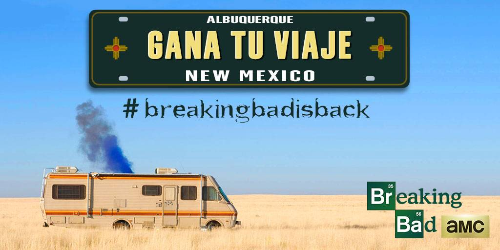 concurso breaking bad instagram