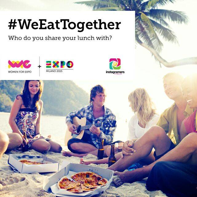 Take part in WeEatTogether contest and be exhibited at Expo Milano 2015