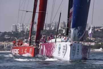 2 June 2014 Team SCA Volco Ocean Race, Lisbon. Practise Race and ProAm 1