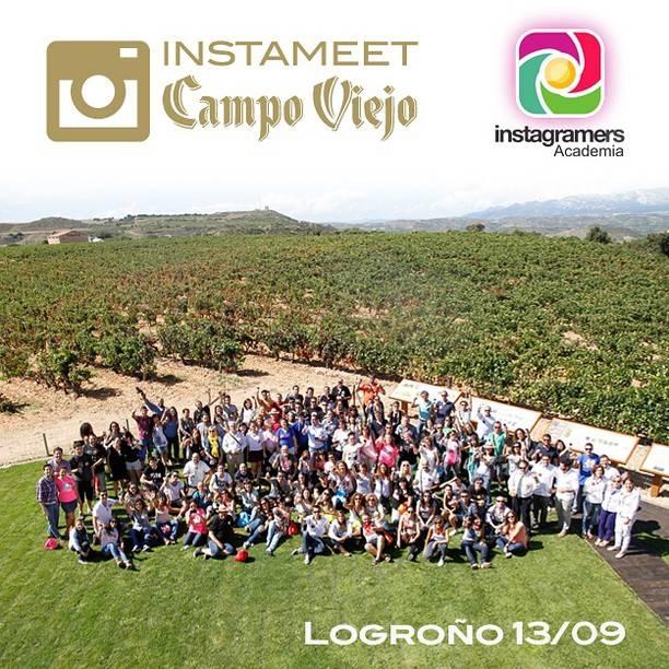 Instameet e Instagramers Academia en Bodegas Campo Viejo este próximo fin de semana