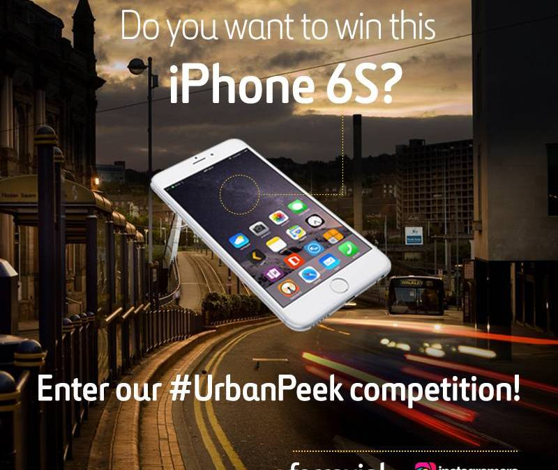 Win an iPhone 6S joining #UrbanPeek competition on Instagram!