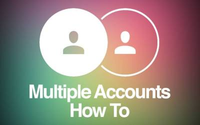 How to Add, Manage & Switch multiple accounts on Instagram
