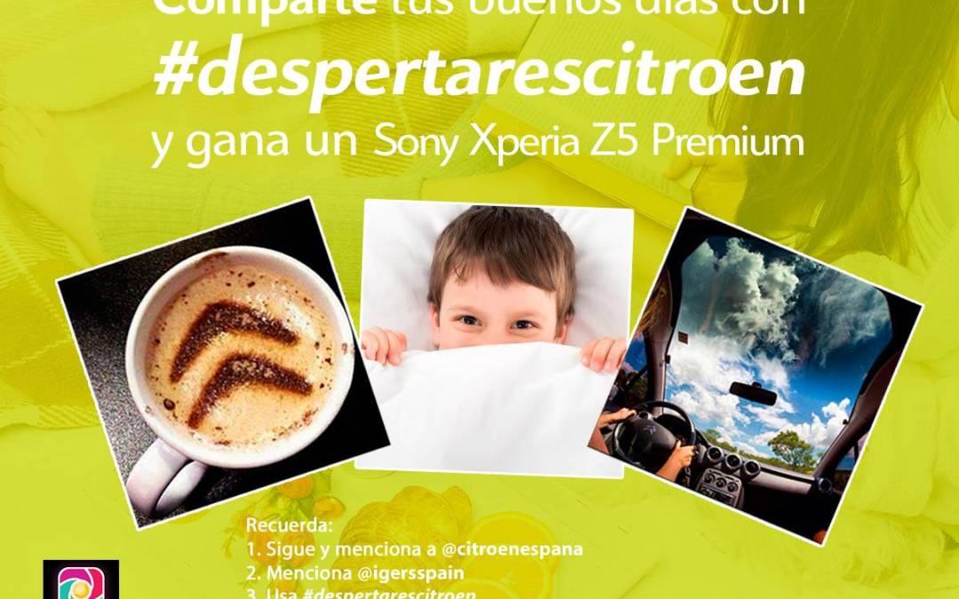 Participa con Citröen España al concurso #DespertaresCitroen en Instagram y gana fantásticos premios