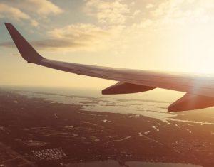 instagram influencer airplane