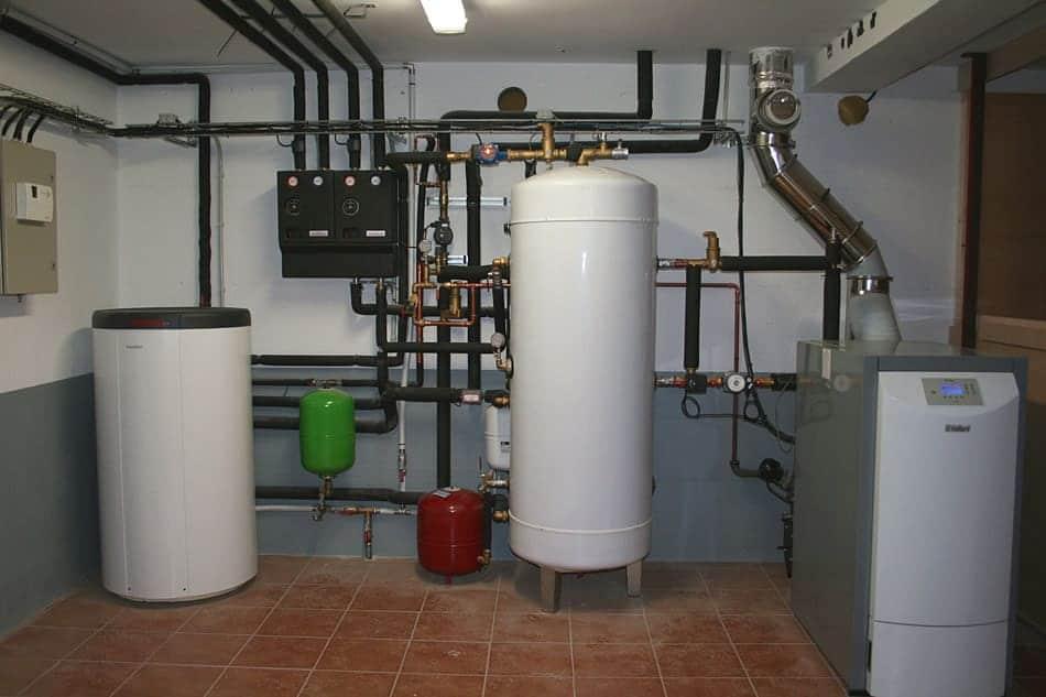 01 calefaccion por suelo radiante acs con caldera de for Caldera para suelo radiante