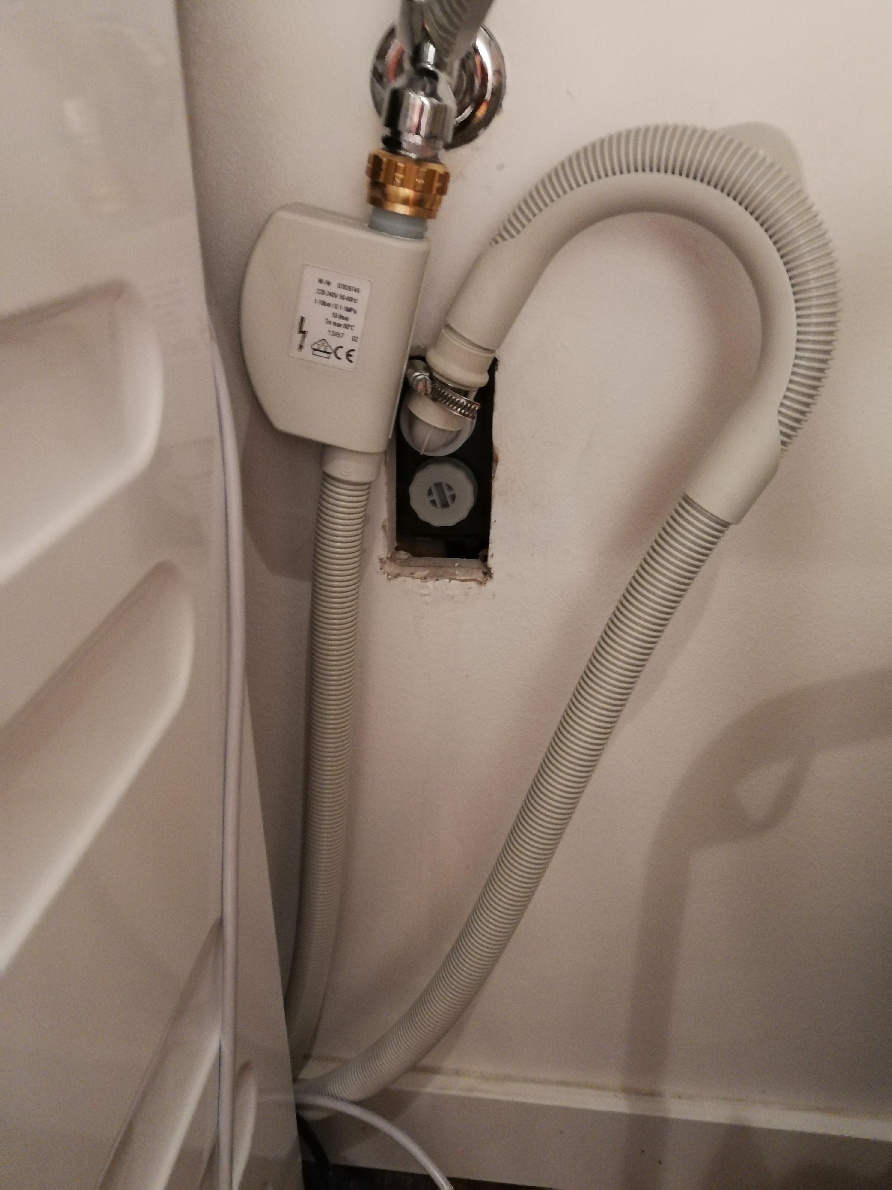 Bevorzugt Neuer Waschmaschine Anschluss und Ablauf – Installateur Muenchen RZ95