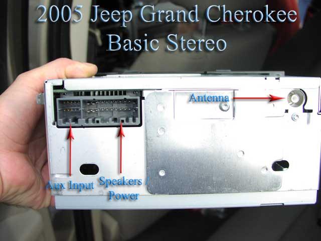 2003 Jeep Grand Cherokee Installation Parts, Harness