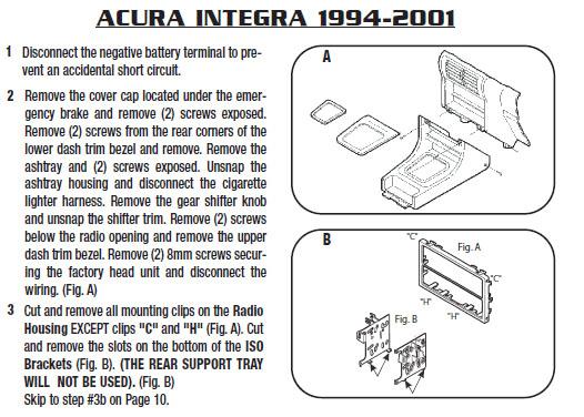 .1994-ACURA-INTEGRAinstallation Instructions