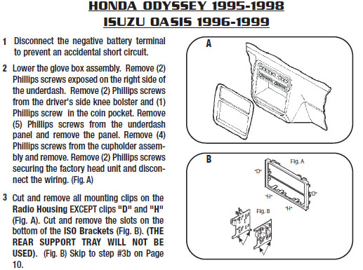Honda Odyssey 7 Pin Wiring Harness 2017