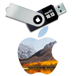 macOS 10.13 high sierra usb installer disk