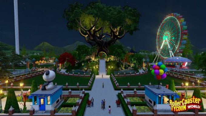 Roller Coaster Tycoon World Highly Compressed and Free Download