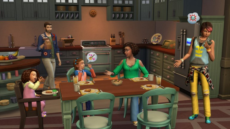 The Sims 4 - Parenthood Game Pack Highly Compressed Crack + Cd Key PC Game For Free Download