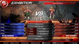 The Fire Pro Wrestling World Crack game
