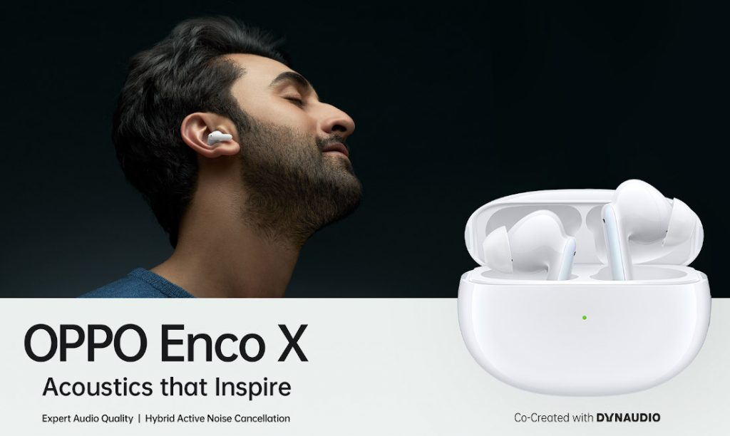OPPO Enco X True Wireless Noise Cancelling Earphones launching in India on January 18