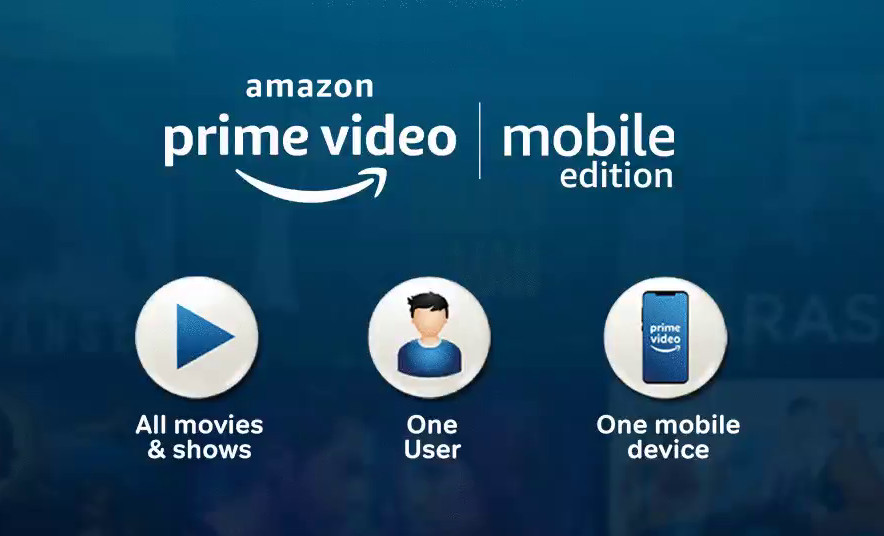 Amazon Prime Video Mobile Edition launched in India at Rs. 89 per month