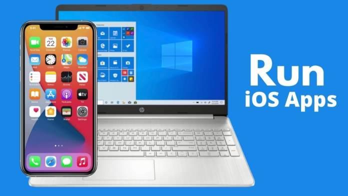 Run ios apps on windows 10