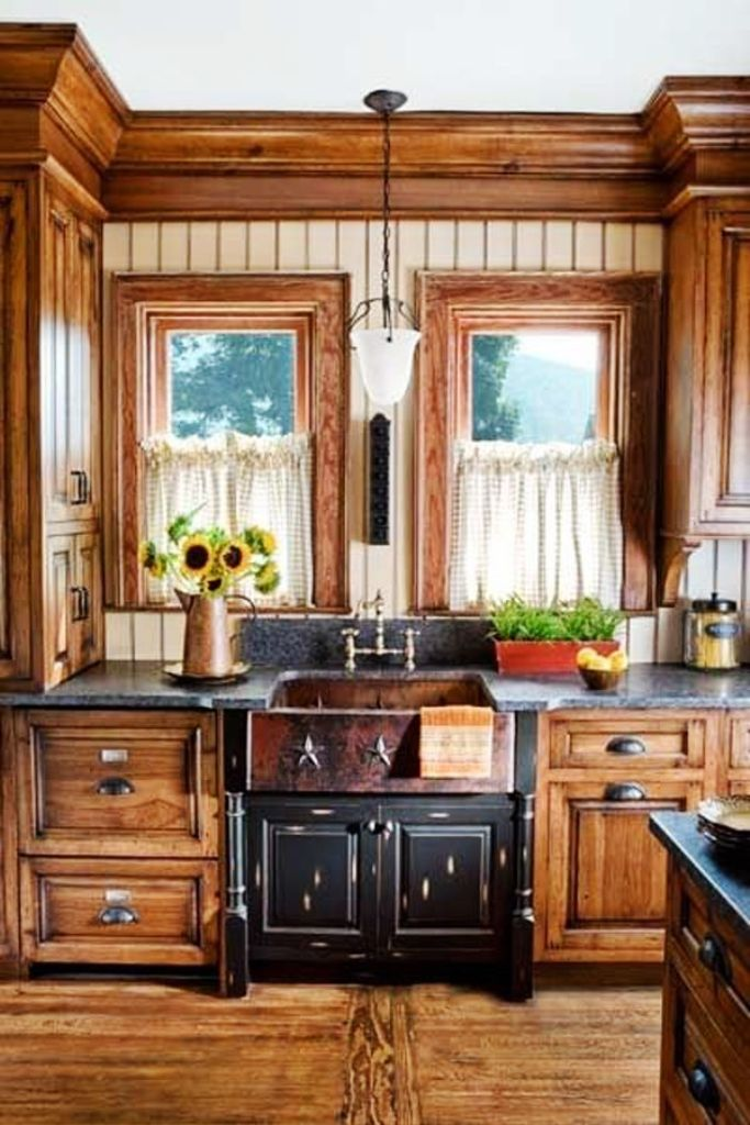 25 Amazing Rustic Kitchen Design And Ideas For You ... on Farmhouse Rustic Kitchen  id=40297