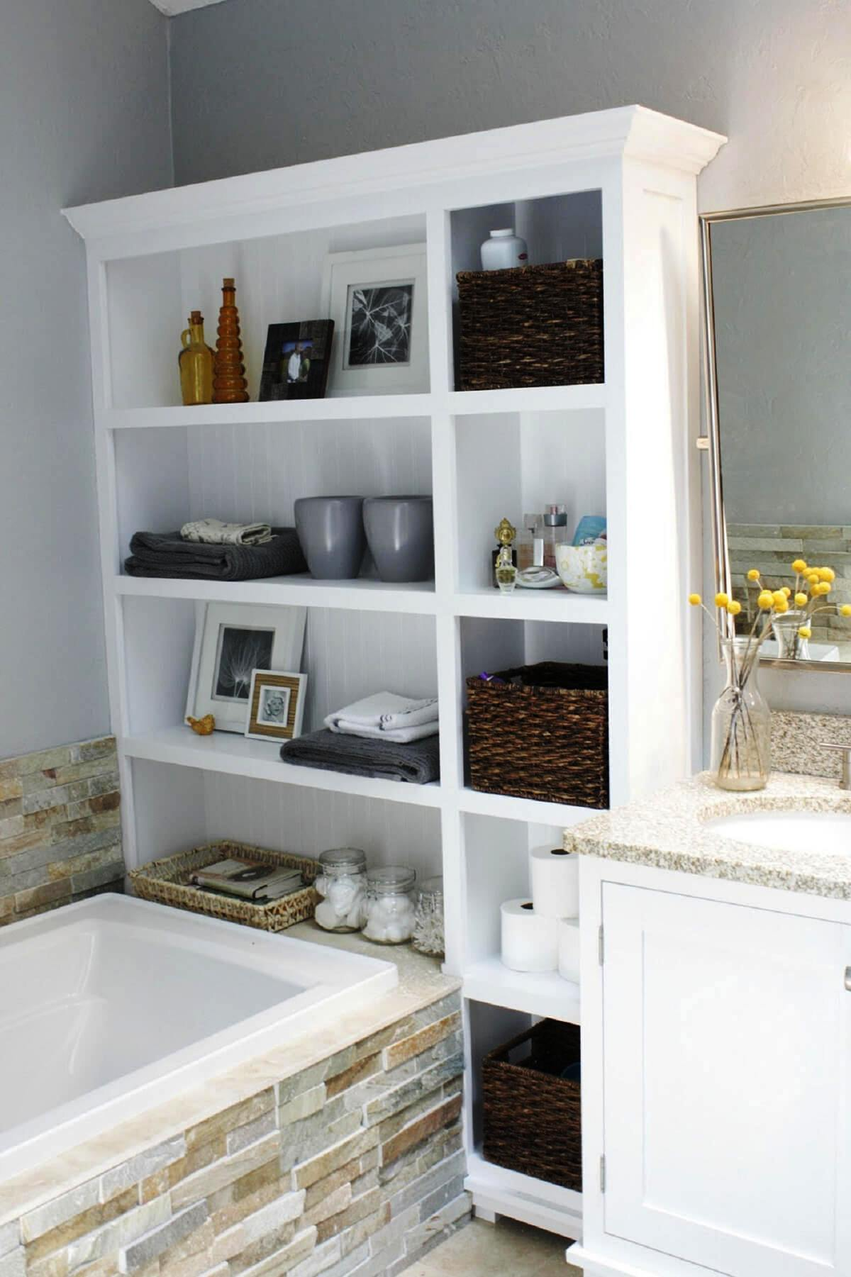 25 Amazing Storage Ideas For Small Spaces To Try Out ... on Small Space Bathroom  id=62639