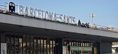 Estació de Sants (Barcelona)