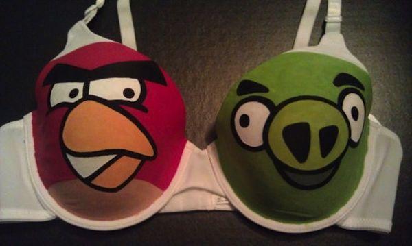 The angry bird bra