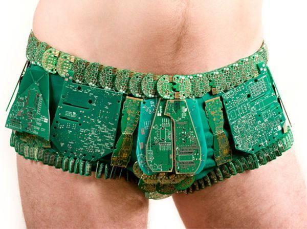 The digitalized undies