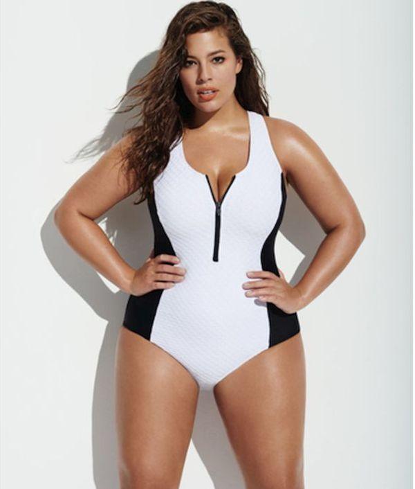sexy plus-size woman
